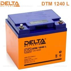 Аккумулятор Delta DTM 1240 L (12V / 40Ah)