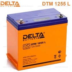 Аккумулятор Delta DTM 1255 L (12V / 55Ah)