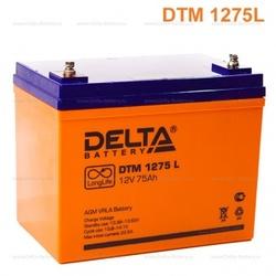 Аккумулятор Delta DTM 1275 L (12V / 75Ah)