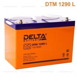 Аккумулятор Delta DTM 1290 L (12V / 90Ah)