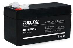 Аккумулятор Delta DT 12012 (12V / 1.2Ah)