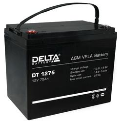 Аккумулятор Delta DT 1275 (12V / 75Ah)