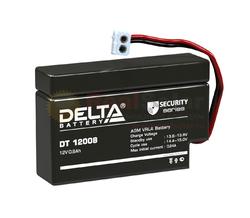 Аккумулятор Delta DT 12008 (T13) (12V / 0.8Ah)