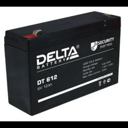 Аккумулятор Delta DT 612 (6V / 12Ah)