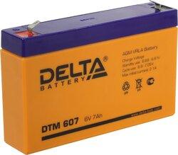 Аккумулятор Delta DTM 607 (6V / 7Ah)