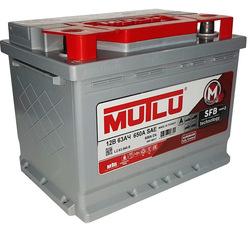 Аккумулятор Mutlu 63 а/ч, L2.63.060.A в СПб