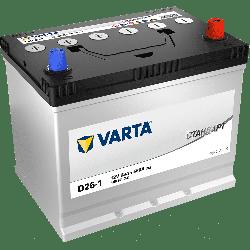 Аккумулятор VARTA Стандарт D26-1 68ah/580a, 6СТ-68.0