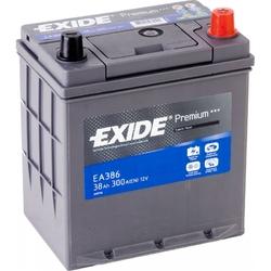 Аккумулятор автомобильный Exide EA386 38 А/ч 300А