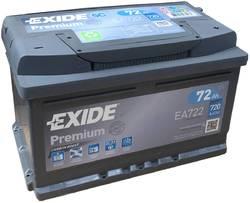 Аккумулятор Exide EA722, 72 А/ч, 720А