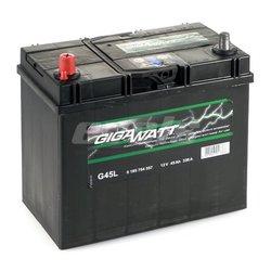 Аккумулятор автомобильный Gigawatt G45L 45А/ч 330A