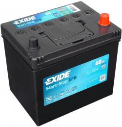 Аккумулятор Exide EL604 EFB Start-Stop 60а/ч