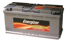 Аккумулятор автомобильный Energizer PREMIUM AGM EA105L6 105А/ч 950А
