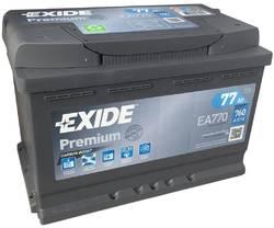 Аккумулятор Exide EA770, 77 А/ч 760А