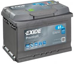 Аккумулятор автомобильный Exide EA612 61 А/ч 600 А