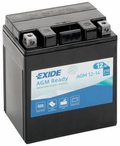 Аккумулятор мото Exide AGM12-14