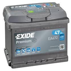 Аккумулятор Exide EA472, 47 А/ч 450А