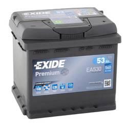 Аккумулятор Exide EA530, 53 А/ч 540А