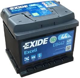Аккумулятор автомобильный Exide EB442 44 А/ч 420А