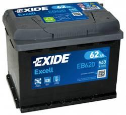 Аккумулятор автомобильный Exide EB620 62 А/ч 540А