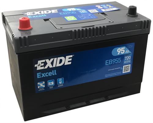 Купить аккумулятор EXIDE EB955, 95 А/ч 720А