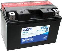 Аккумулятор Exide ET12A-BS