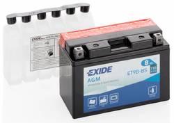 Аккумулятор мото Exide ET9B-BS