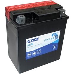 Аккумулятор мото Exide ETX7L-BS