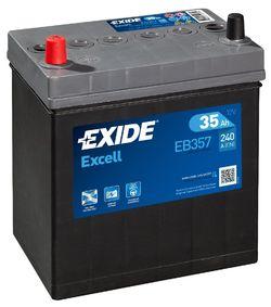 Аккумулятор автомобильный Exide EB357 35 А/ч 240А