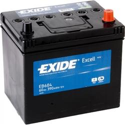 Аккумулятор Exide EB604, 60 А/ч 390A