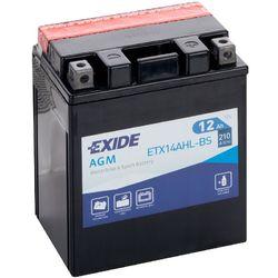Аккумулятор мото Exide ETX14AHL-BS