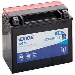 Аккумулятор мото Exide ETX20HL-BS