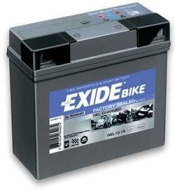 Аккумулятор мото Exide GEL12-19