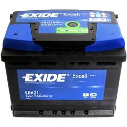 Аккумулятор автомобильный Exide EB621 62 А/ч 540А