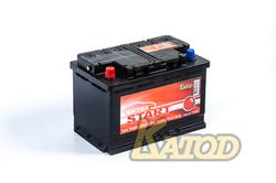 Аккумулятор автомобильный EXTRA START (Катод) 74 а/ч 6СТ-74N L+