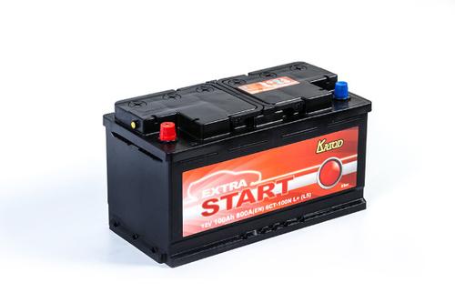 Аккумулятор EXTRA START (Катод) 100 а/ч, 6СТ-100N L+
