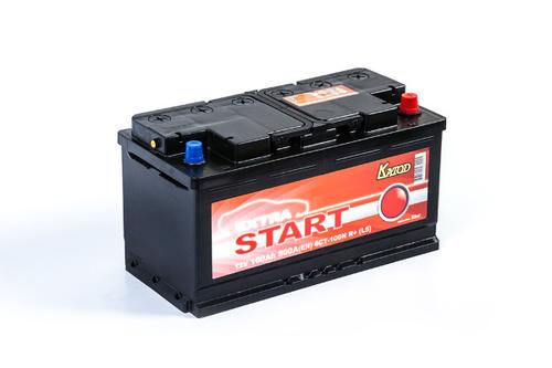 Аккумулятор EXTRA START (Катод) 100 а/ч, 6СТ-100N R+