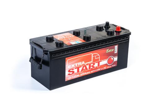 Аккумулятор EXTRA START (Катод) 135 а/ч, 6СТ-135N L+