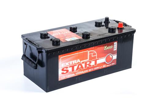 Аккумулятор EXTRA START (Катод) 190 а/ч, 6СТ-190N L+