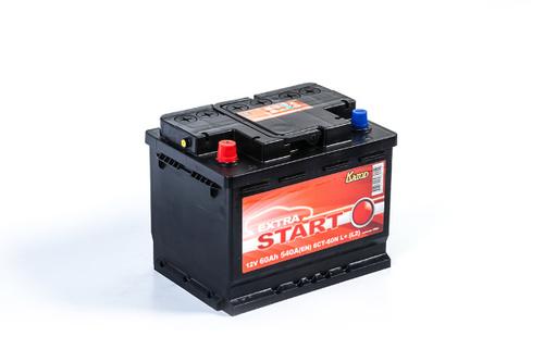 Аккумулятор EXTRA START (Катод) 60 а/ч, 6СТ-60N L+ в СПб