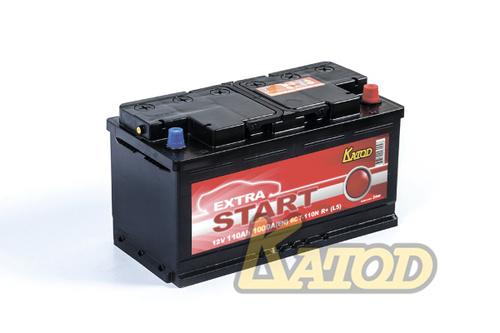 Аккумулятор EXTRA START (Катод) 110 а/ч, 6СТ-110N R+ в СПб