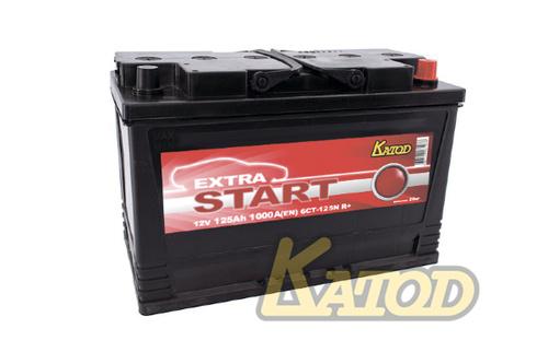 Аккумулятор EXTRA START (Катод) 125 а/ч, 6СТ-125 N R+