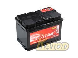 Аккумулятор автомобильный EXTRA START (Катод) 77 а/ч 6СТ-77VL R+
