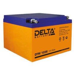 Аккумулятор Delta DTM 1226 (12V / 26Ah)