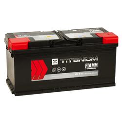 Аккумулятор автомобильный Fiamm BLACK TITANIUM L6110
