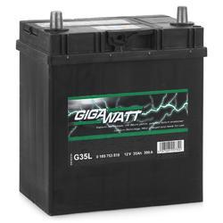 Аккумулятор автомобильный Gigawatt G35L 35А/ч 300A