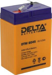 Аккумулятор Delta DTM 6045 (6V / 4.5Ah)