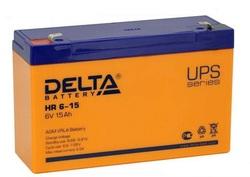 Аккумулятор Delta HR 6-15 (6V / 15Ah)