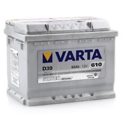 Аккумулятор автомобильный Varta silver dynamic D39 (563401061)