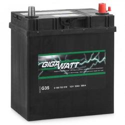 Аккумулятор автомобильный Gigawatt G35R 35А/ч 300A