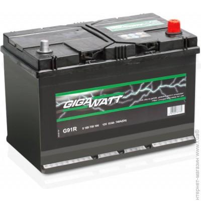 GIGAWATT G91R 91А/ч  740A